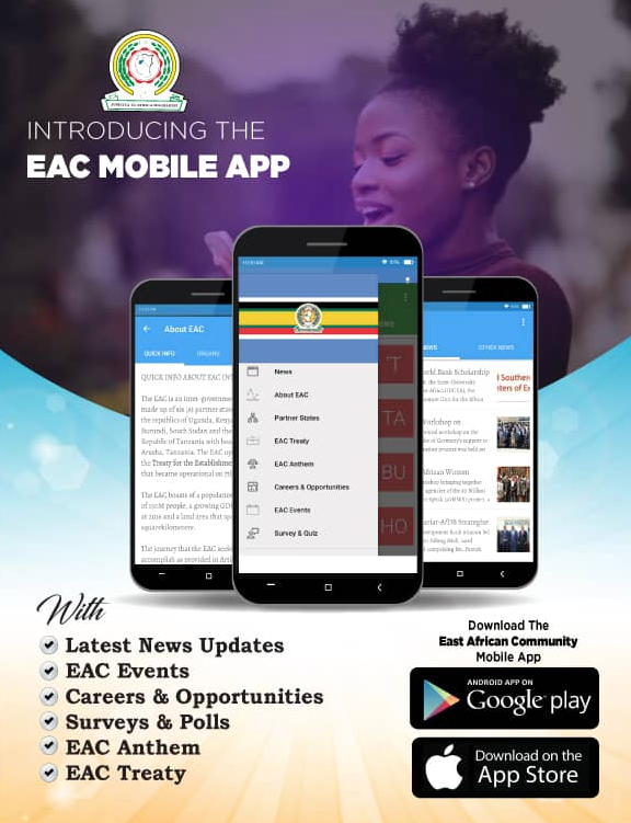 EAC Mobile App Advert