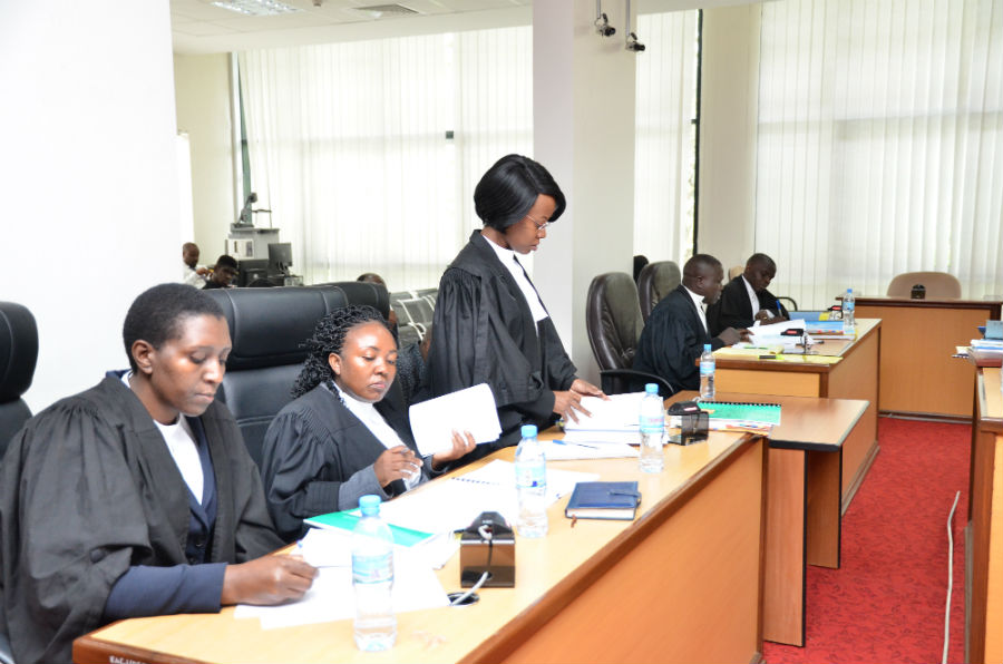 Counsel Patricia Mutesi appearing on behalf of the Attorney General of Uganda.