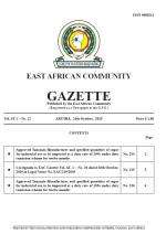 gazette EAC Gazette | 24 November 2020
