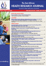 HRJ East African Health Research Journal | Volume 5, Issue 1