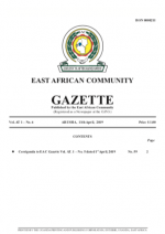 Screenshot 2019-04-15 at 120015 EAC Gazette | 11 April 2019