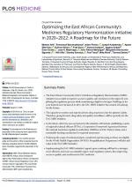 PJ4 Optimizing the EAC's Medicines Regulatory Harmonization initiative in 2020-2022: A Roadmap for the Future