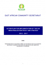 ipsap Action Plan for Implementation of the EAC Industrialization Policy and Strategy 2012-2017