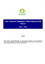 eacip EAC Industrialization Policy 2012 - 2032