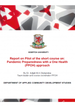 egerton report  Pandemic Preparedness with a One Health (PPOH) Approach